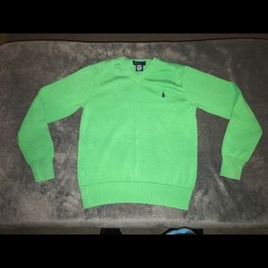 Polo Ralph Lauren v-neck Sweater size M 12/14